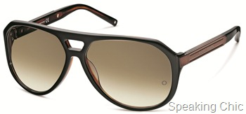 Mont Blanc double bridge aviators