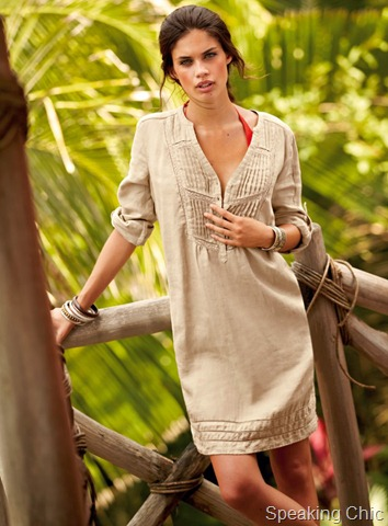 Linen Dress on Linen Dress From La Redoute  Available On Rock In