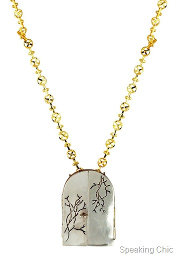 Eina Ahluwalia Door to the soul necklace