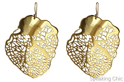 Eina Ahluwalia Heart of Gold earrings