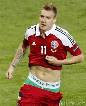 Nicklas Bendtner- AP