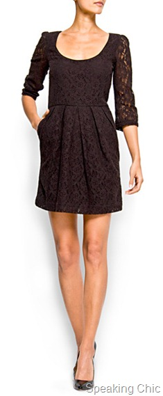 Mango Lace dress